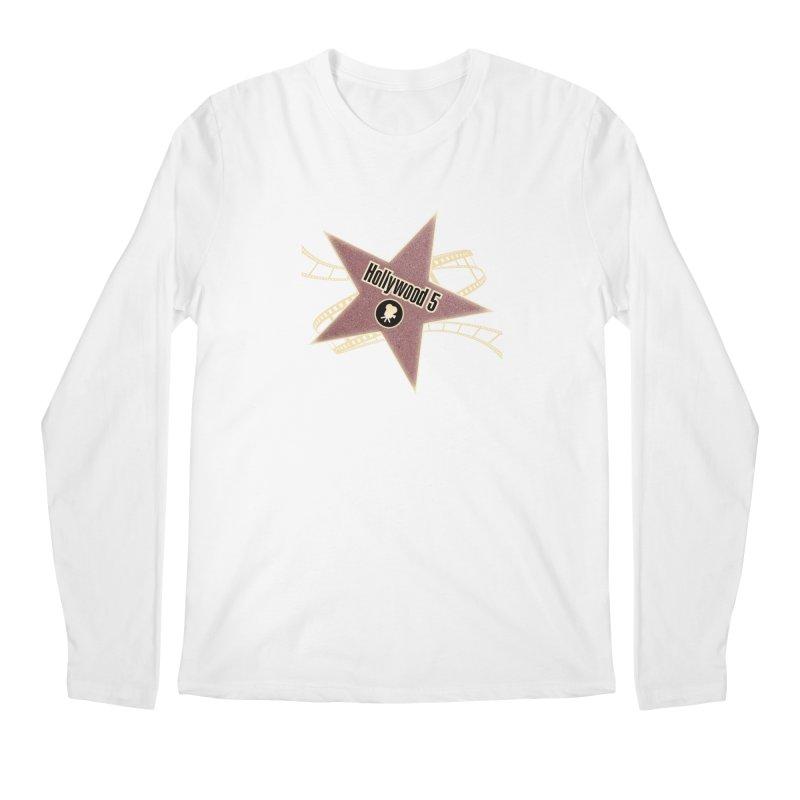 Hollywood 5 Star Men's Longsleeve T-Shirt by Todd Sarvies Band Apparel