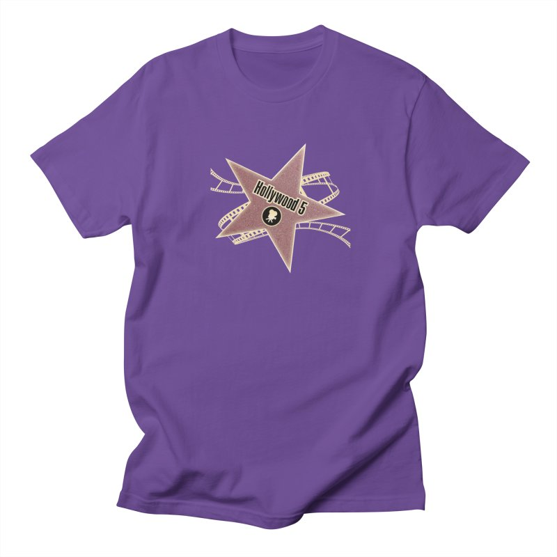 Hollywood 5 Star Women's Unisex T-Shirt by Todd Sarvies Band Apparel