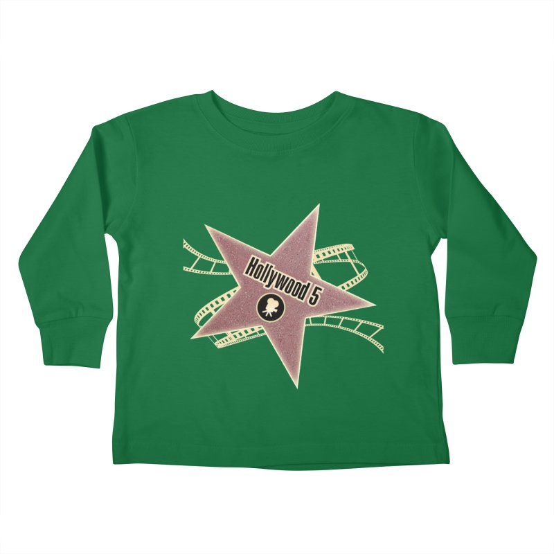 Hollywood 5 Star Kids Toddler Longsleeve T-Shirt by Todd Sarvies Band Apparel