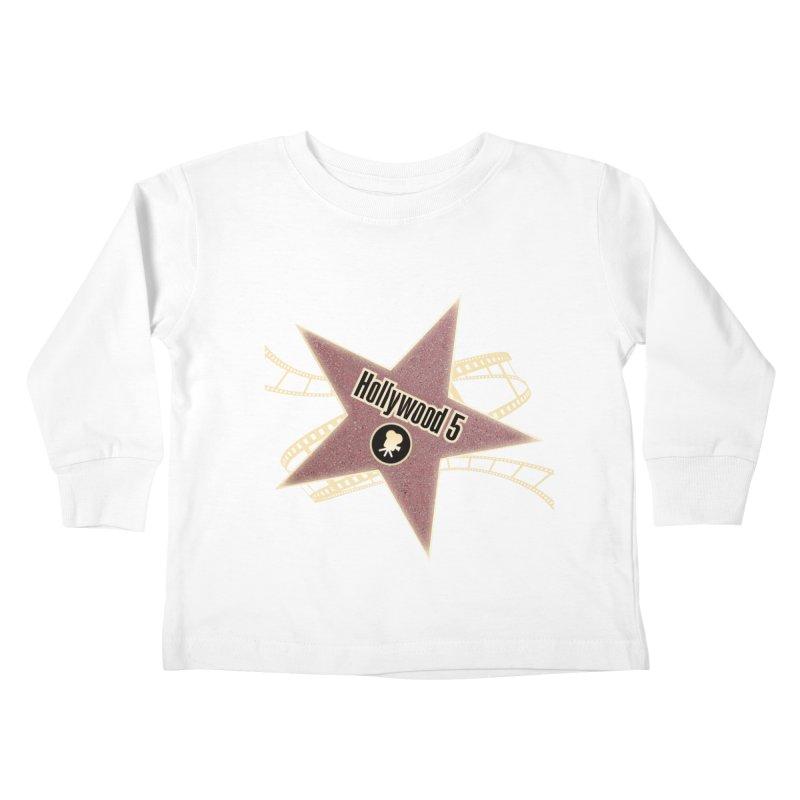 Hollywood 5 Star Kids Toddler Longsleeve T-Shirt by Todd Sarvies Band Apparel