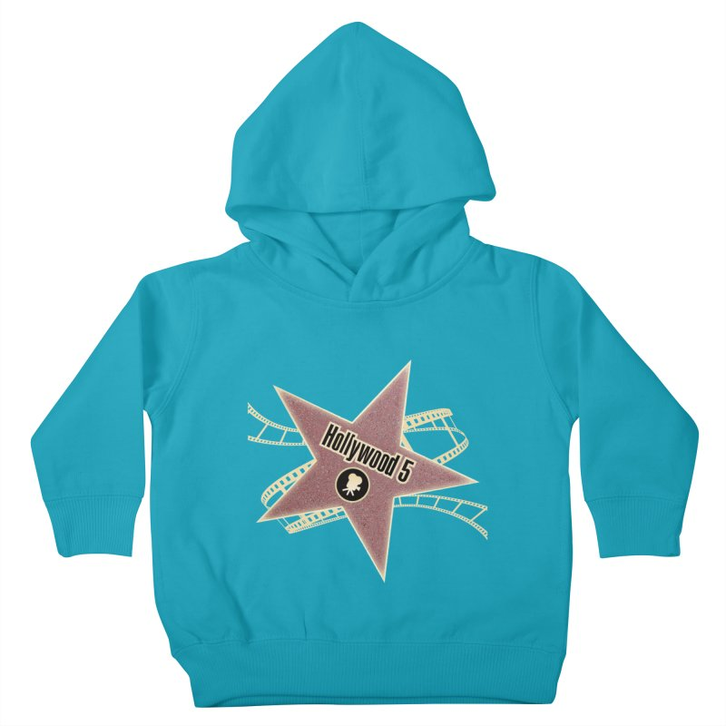 Hollywood 5 Star Kids Toddler Pullover Hoody by Todd Sarvies Band Apparel