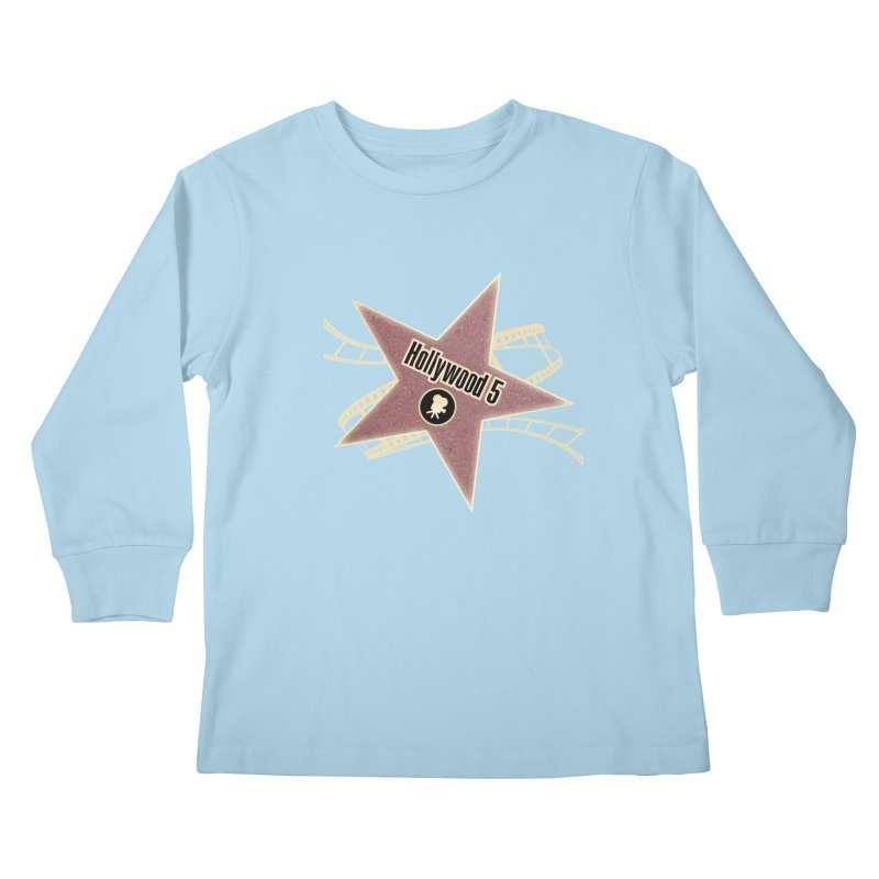 Hollywood 5 Star Kids Longsleeve T-Shirt by Todd Sarvies Band Apparel