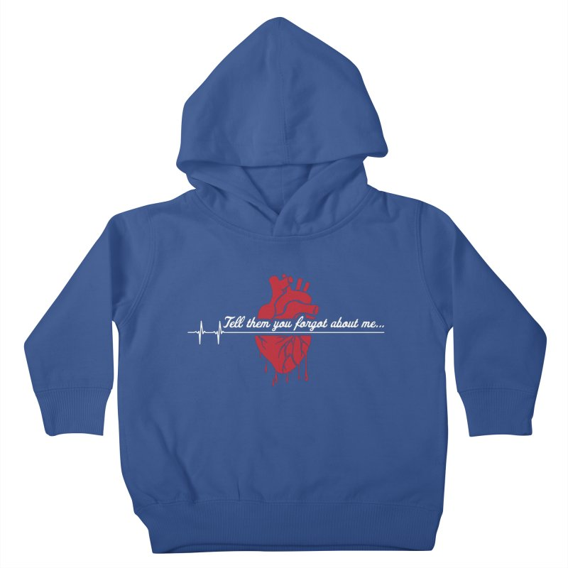FLATLINE Kids Toddler Pullover Hoody by TODD SARVIES BAND APPAREL