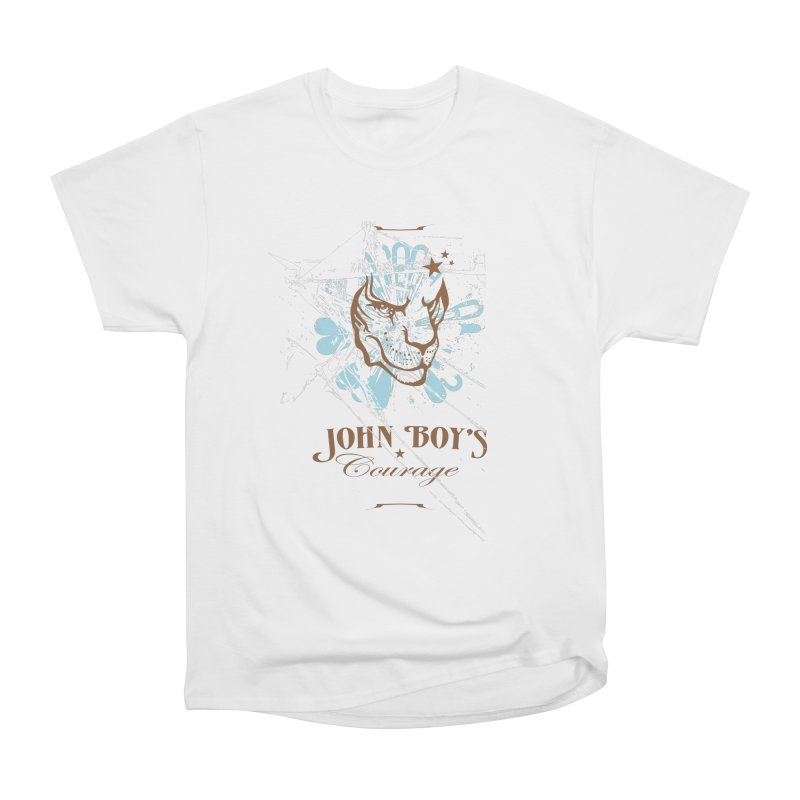 JBC Graphic Lion Women's Heavyweight Unisex T-Shirt by Todd Sarvies Band Apparel