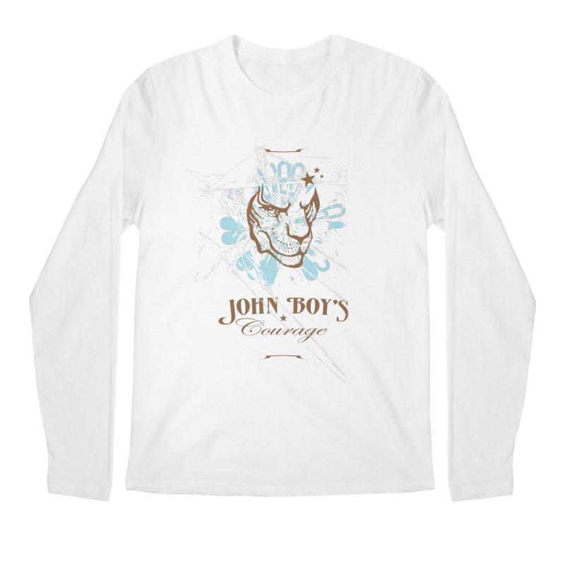 JBC Graphic Lion Men's Regular Longsleeve T-Shirt by Todd Sarvies Band Apparel