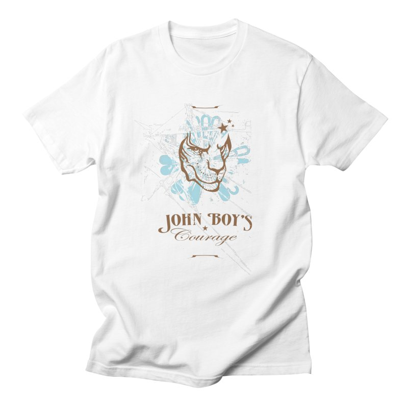 JBC Graphic Lion in Men's T-Shirt White by Todd Sarvies Band Apparel