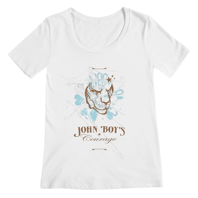 JBC Graphic Lion Women's Scoopneck by Todd Sarvies Band Apparel