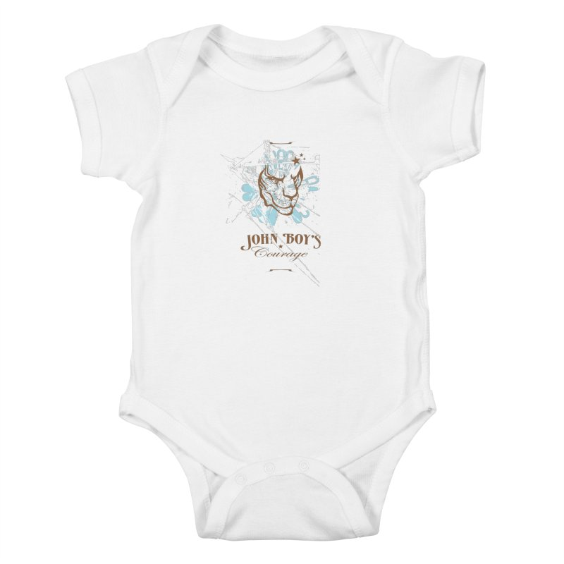 JBC Graphic Lion Kids Baby Bodysuit by Todd Sarvies Band Apparel