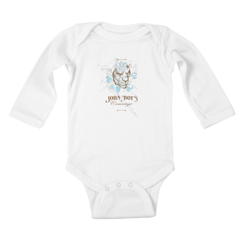 JBC Graphic Lion Kids Baby Longsleeve Bodysuit by TODD SARVIES BAND APPAREL