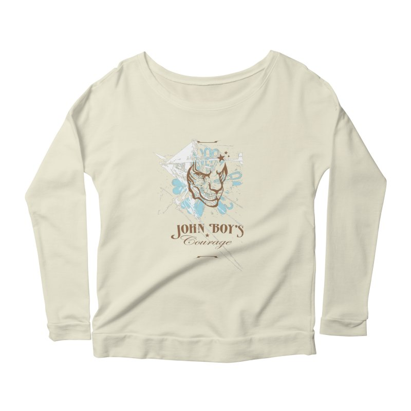JBC Graphic Lion Women's Scoop Neck Longsleeve T-Shirt by Todd Sarvies Band Apparel
