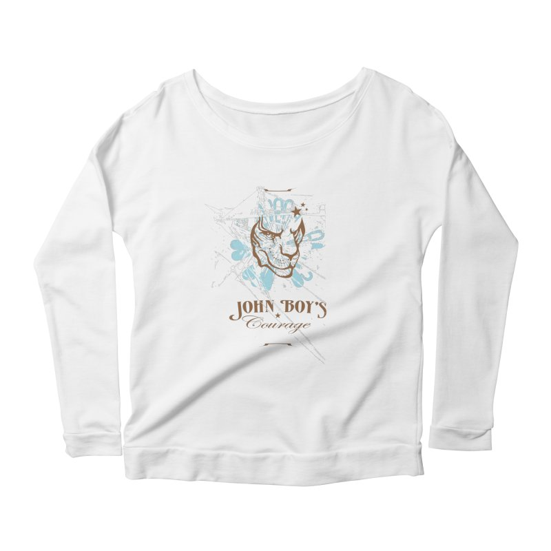 JBC Graphic Lion Women's Longsleeve Scoopneck  by Todd Sarvies Band Apparel