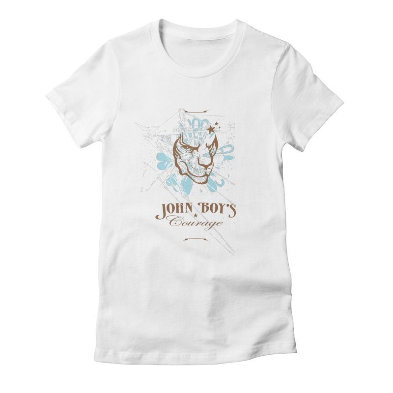 JBC Graphic Lion Women's Fitted T-Shirt by Todd Sarvies Band Apparel