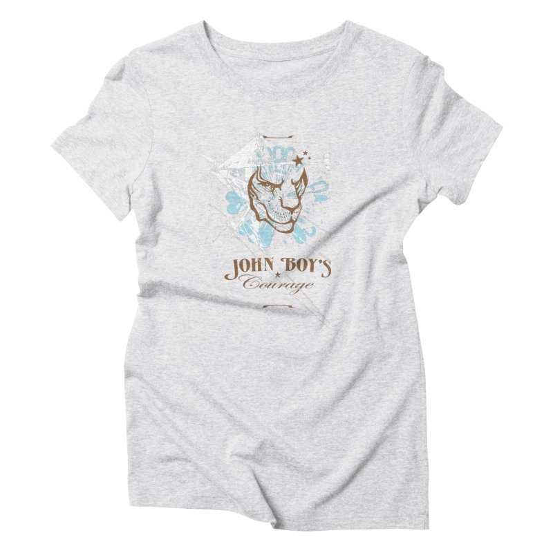 JBC Graphic Lion Women's Triblend T-Shirt by Todd Sarvies Band Apparel