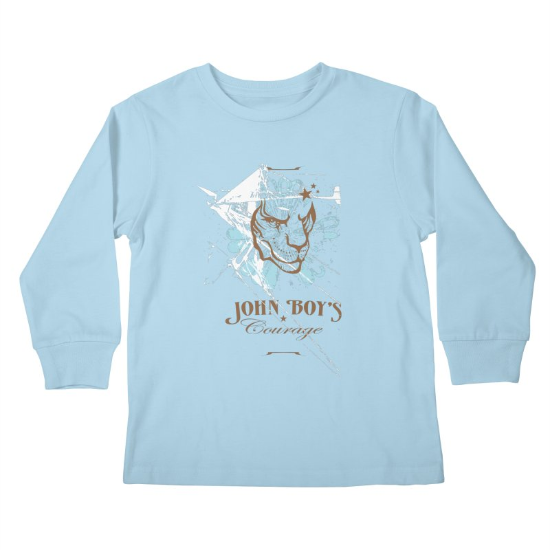 JBC Graphic Lion Kids Longsleeve T-Shirt by Todd Sarvies Band Apparel