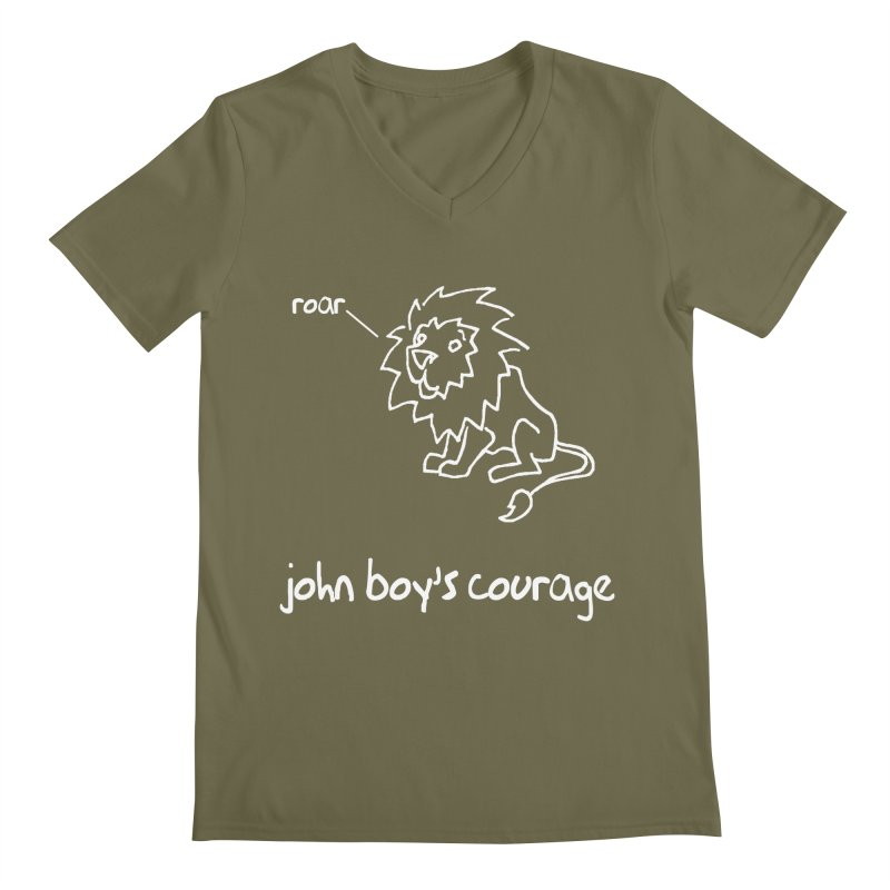 JBC Classic Lion Men's V-Neck by Todd Sarvies Band Apparel