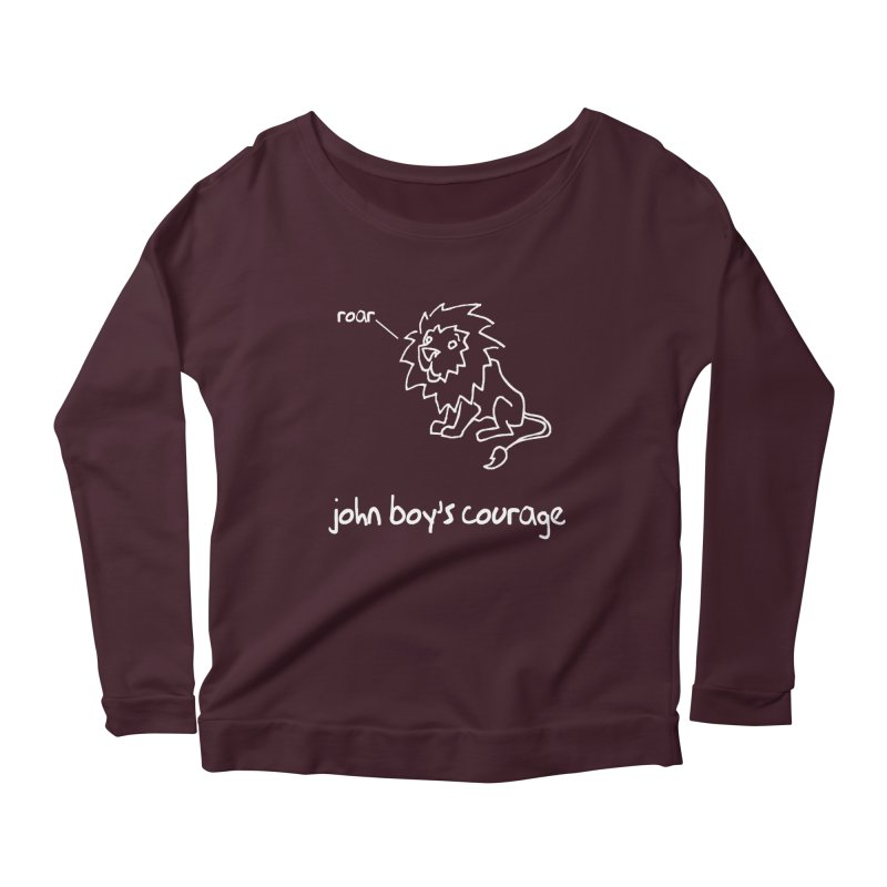 JBC Classic Lion Women's Scoop Neck Longsleeve T-Shirt by Todd Sarvies Band Apparel