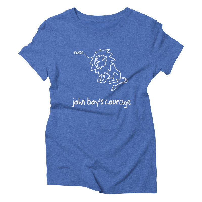JBC Classic Lion Women's Triblend T-Shirt by Todd Sarvies Band Apparel