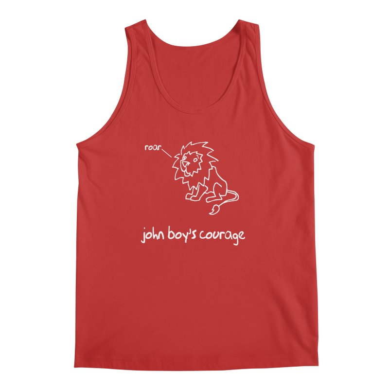 JBC Classic Lion Men's Tank by Todd Sarvies Band Apparel