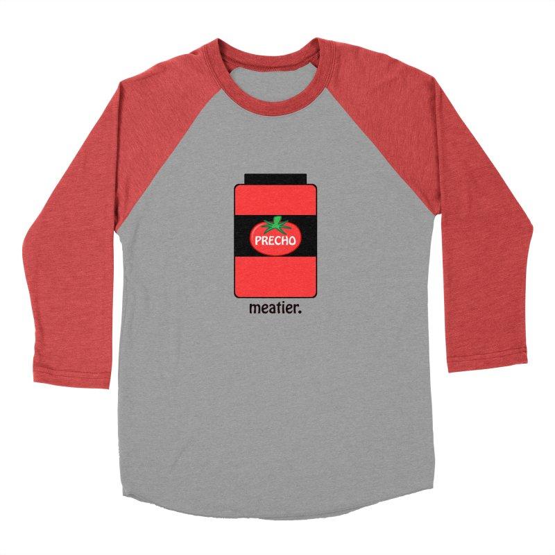 Precho Sauce Women's Baseball Triblend Longsleeve T-Shirt by Todd Sarvies Band Apparel