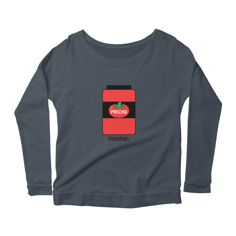 Precho Sauce Women's Longsleeve Scoopneck  by Todd Sarvies Band Apparel