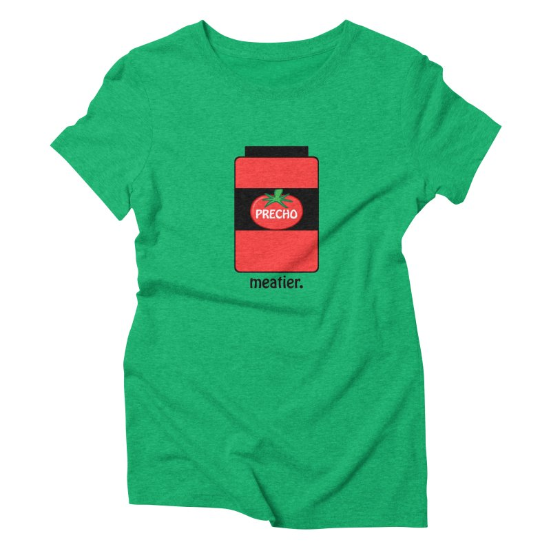 Precho Sauce Women's Triblend T-Shirt by Todd Sarvies Band Apparel