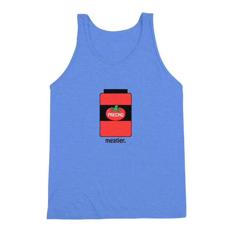 Precho Sauce Men's Triblend Tank by Todd Sarvies Band Apparel