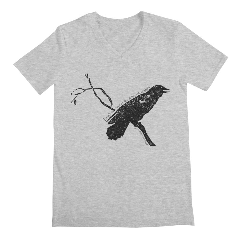 JBC Mocking Bird Men's V-Neck by Todd Sarvies Band Apparel