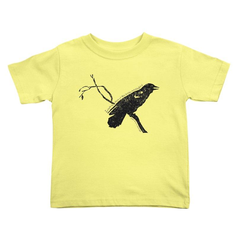 JBC Mocking Bird Kids Toddler T-Shirt by TODD SARVIES BAND APPAREL