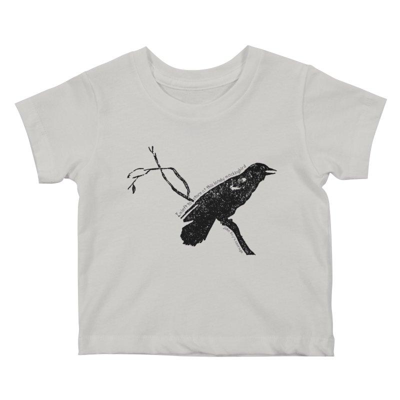 JBC Mocking Bird Kids Baby T-Shirt by Todd Sarvies Band Apparel