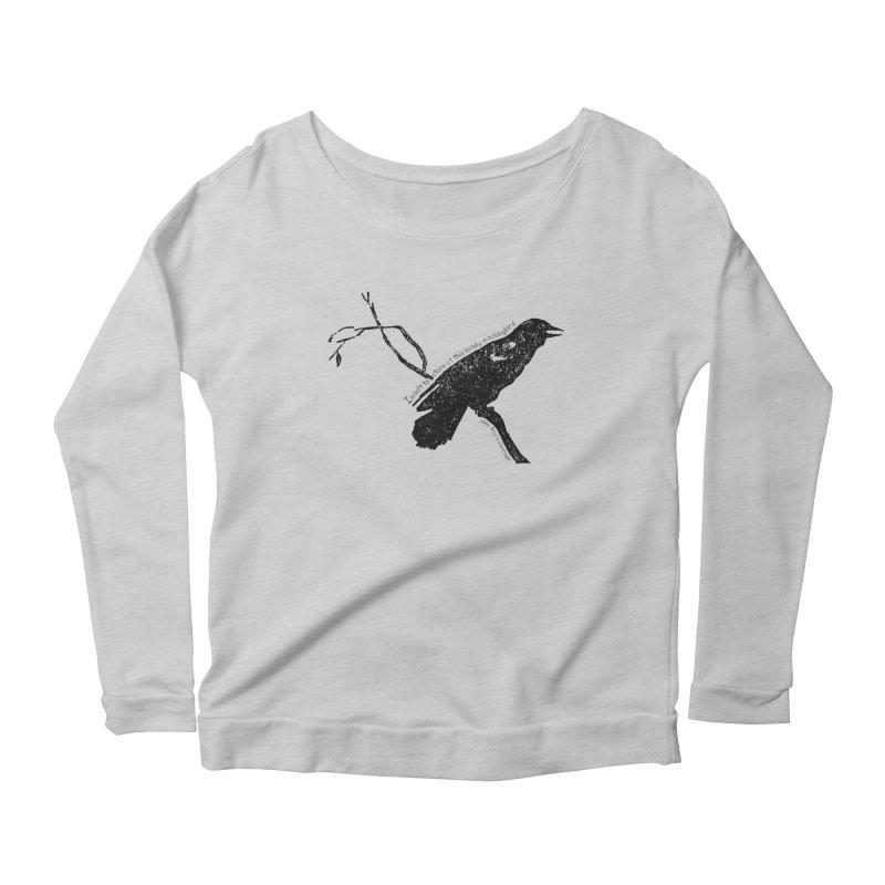 JBC Mocking Bird Women's Scoop Neck Longsleeve T-Shirt by Todd Sarvies Band Apparel