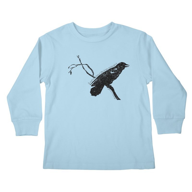 JBC Mocking Bird Kids Longsleeve T-Shirt by Todd Sarvies Band Apparel