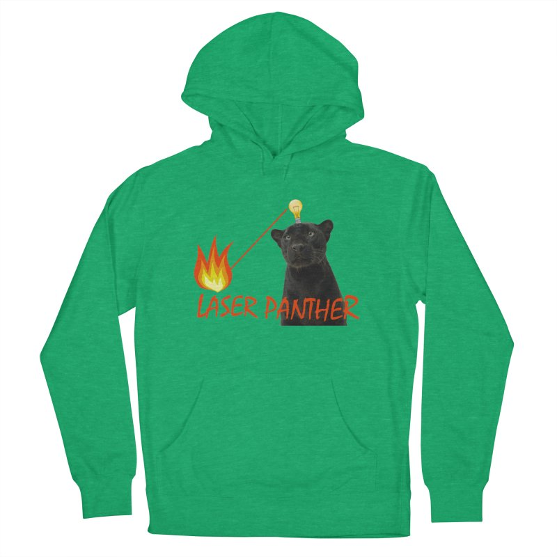 Laser Panther Women's Pullover Hoody by Todd Sarvies Band Apparel