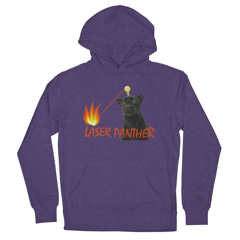 Laser Panther Women's French Terry Pullover Hoody by Todd Sarvies Band Apparel