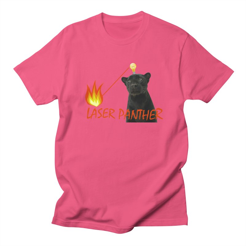 Laser Panther Women's Unisex T-Shirt by Todd Sarvies Band Apparel