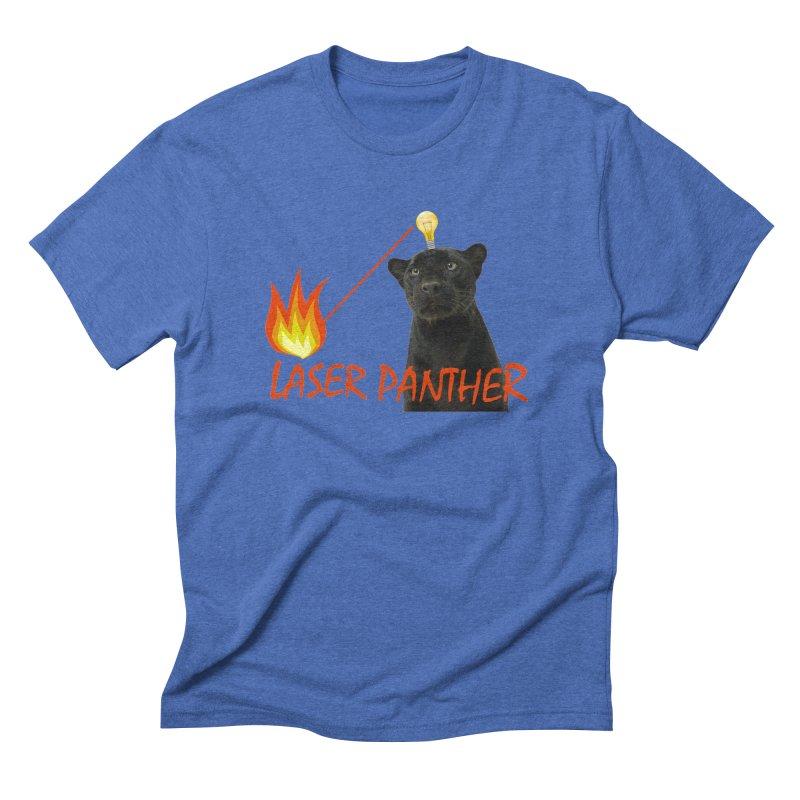 Laser Panther Men's Triblend T-Shirt by Todd Sarvies Band Apparel