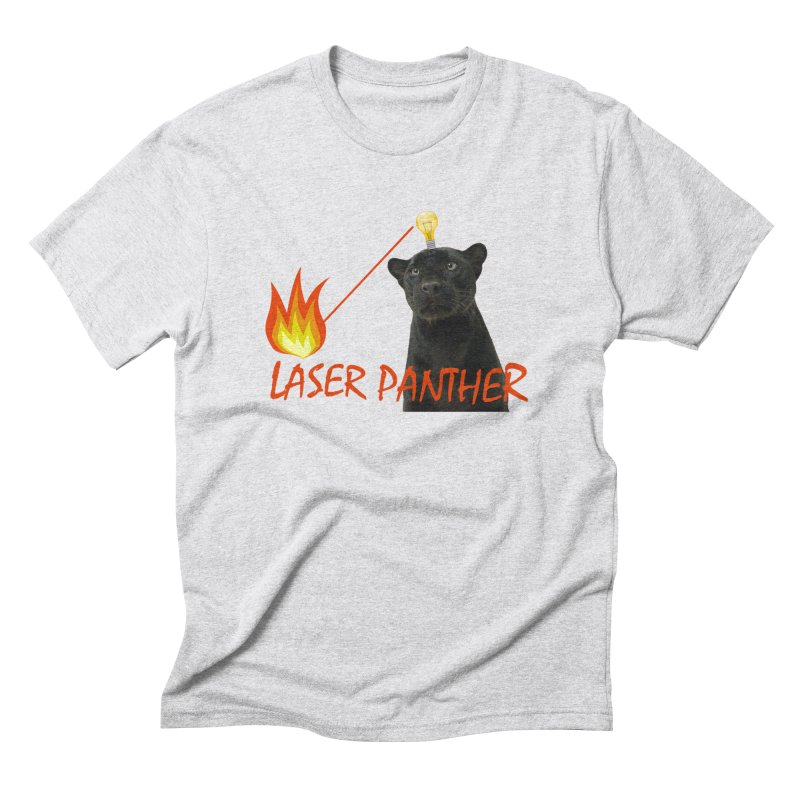 Laser Panther Men's Triblend T-Shirt by Todd Sarvies Band Apparel