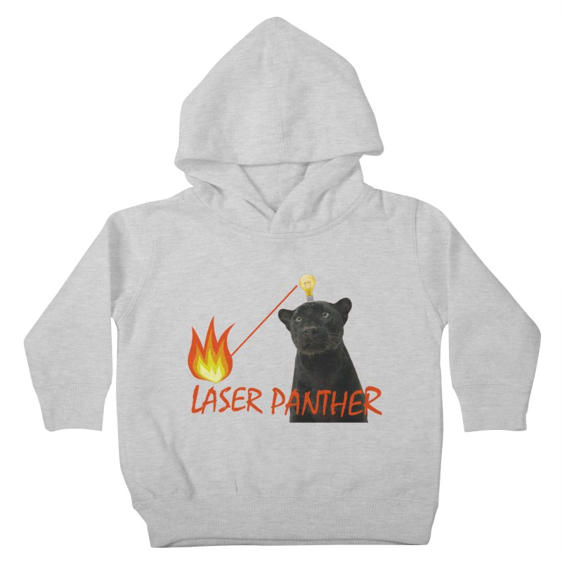 Laser Panther Kids Toddler Pullover Hoody by Todd Sarvies Band Apparel