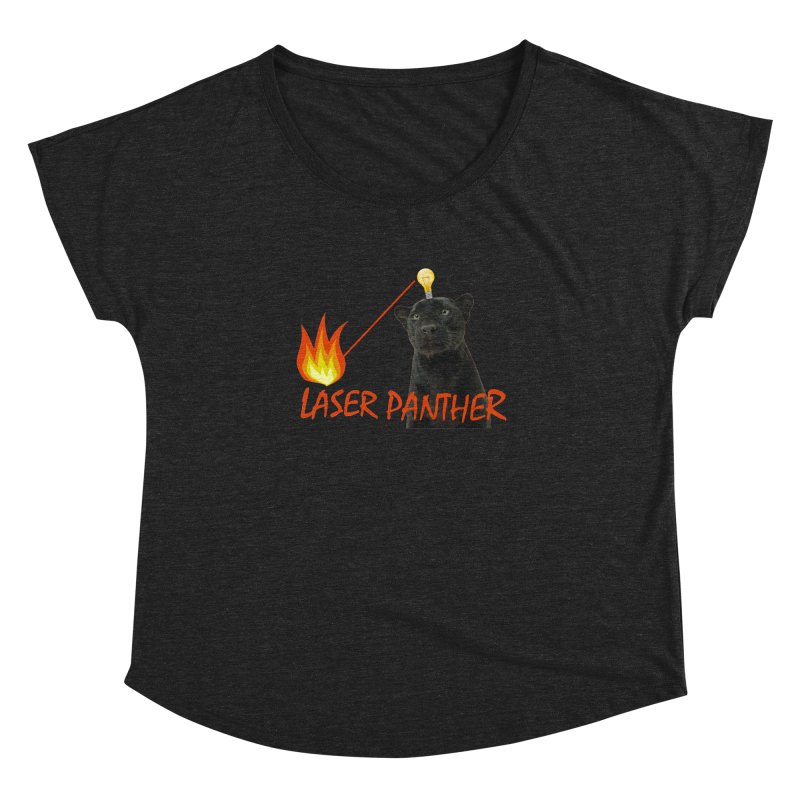 Laser Panther Women's Dolman by Todd Sarvies Band Apparel