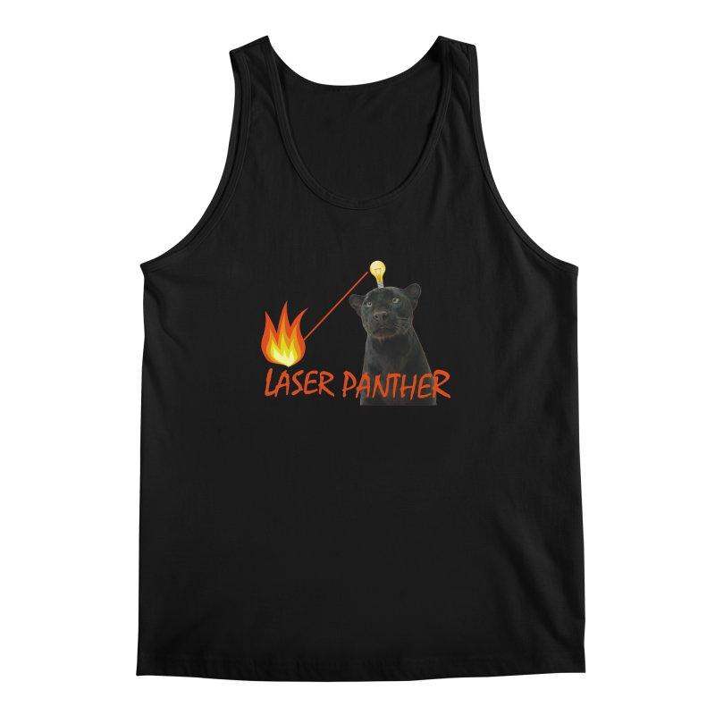 Laser Panther Men's Regular Tank by Todd Sarvies Band Apparel