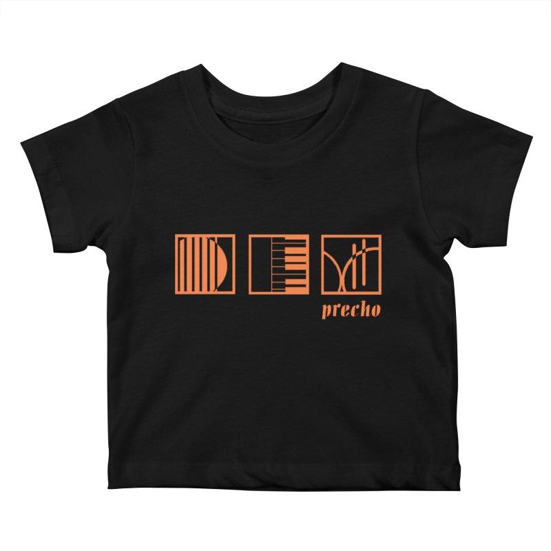 Precho Squares Logo Kids Baby T-Shirt by Todd Sarvies Band Apparel