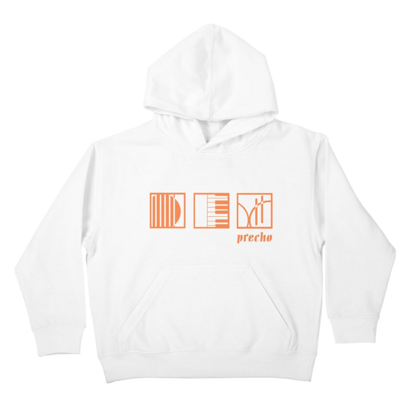 Precho Squares Logo Kids Pullover Hoody by Todd Sarvies Band Apparel
