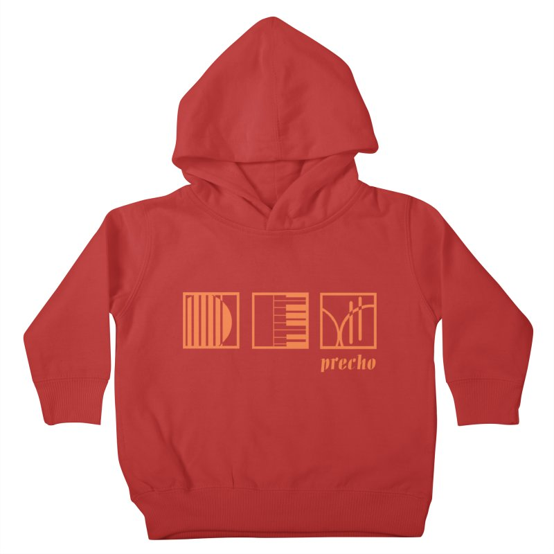 Precho Squares Logo Kids Toddler Pullover Hoody by Todd Sarvies Band Apparel