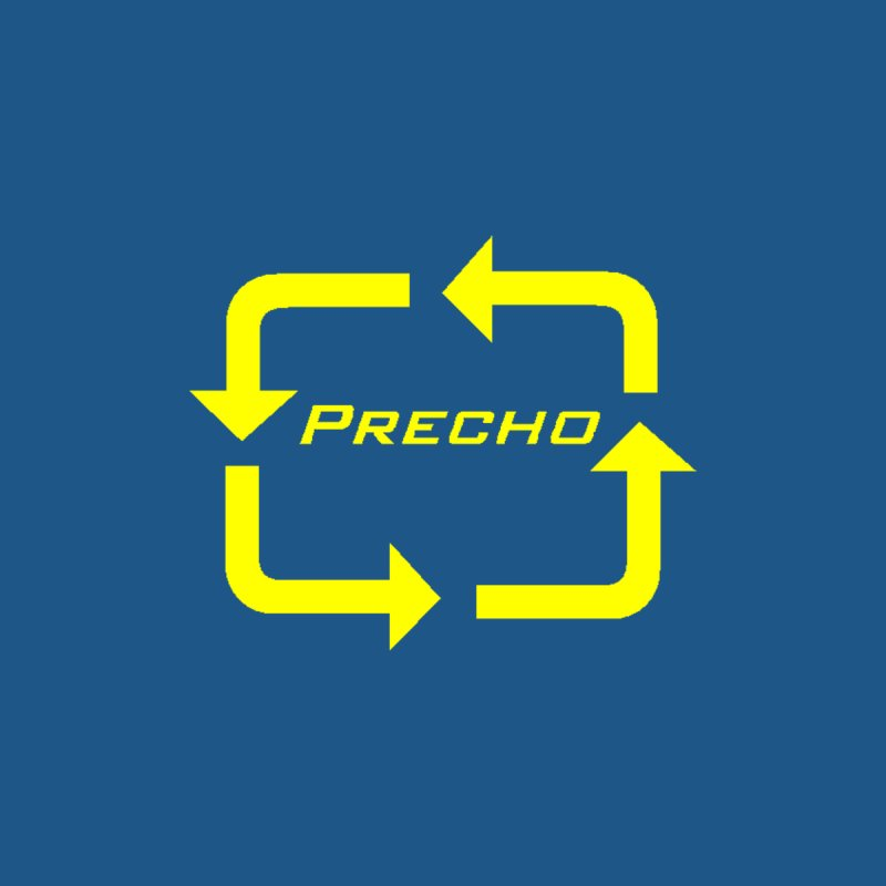 Precho Arrow Logo Men's T-Shirt by Todd Sarvies Band Apparel