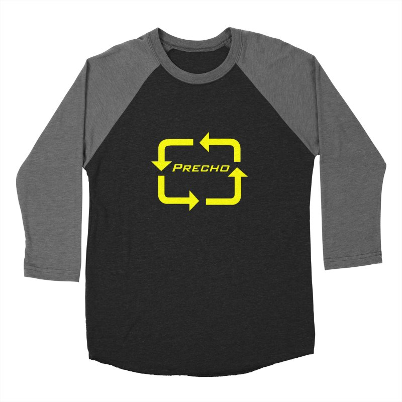 Precho Arrow Logo Women's Baseball Triblend T-Shirt by Todd Sarvies Band Apparel