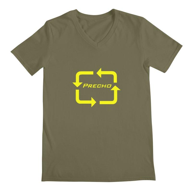 Precho Arrow Logo Men's V-Neck by Todd Sarvies Band Apparel