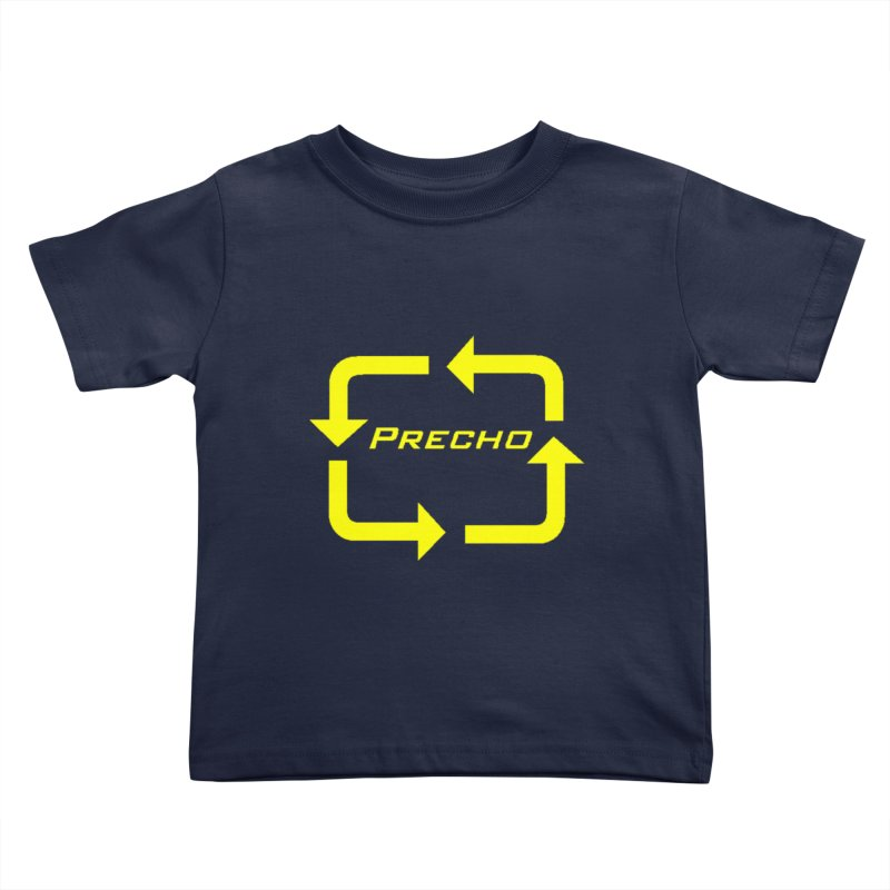 Precho Arrow Logo Kids Toddler T-Shirt by Todd Sarvies Band Apparel