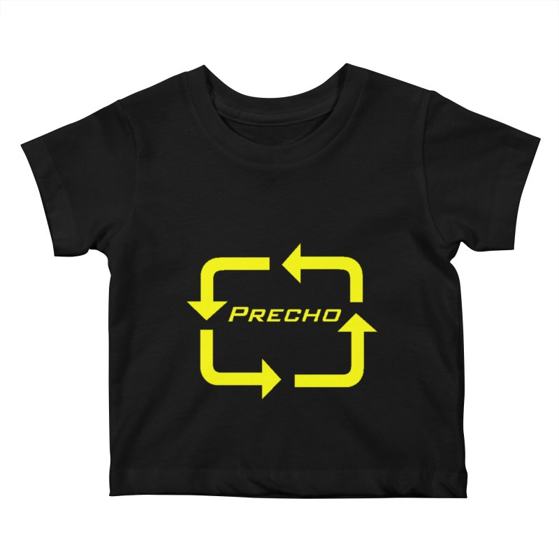 Precho Arrow Logo Kids Baby T-Shirt by TODD SARVIES BAND APPAREL