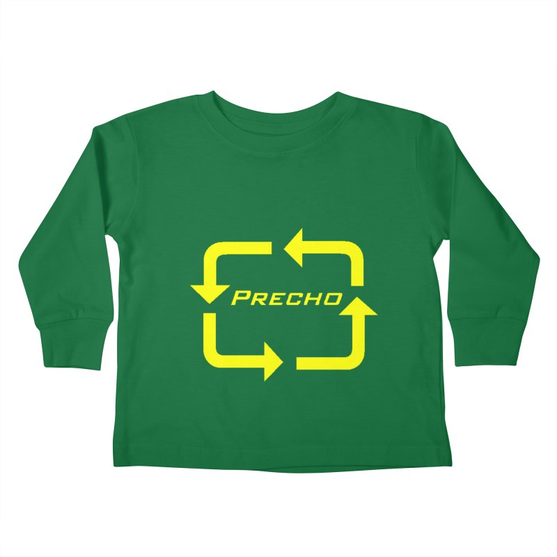 Precho Arrow Logo Kids Toddler Longsleeve T-Shirt by Todd Sarvies Band Apparel