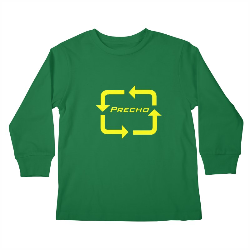 Precho Arrow Logo Kids Longsleeve T-Shirt by Todd Sarvies Band Apparel