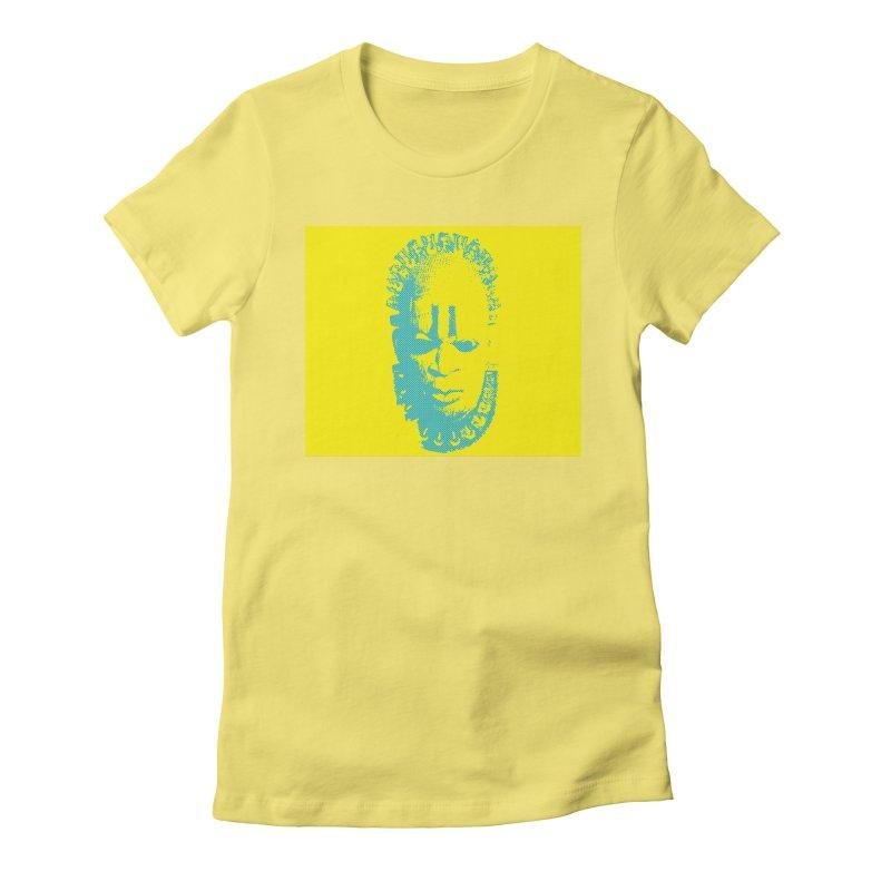 Benin Mask Women's Fitted T-Shirt by felapopart's Artist Shop